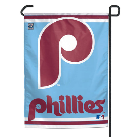 "Philadelphia Phillies / Cooperstown 11"" x 15"" Garden Flag"