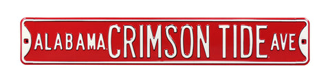 Alabama Crimson Tide Ave Sign