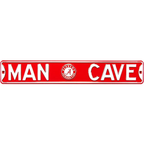 Alabama Crimson Tide Man Cave Sign