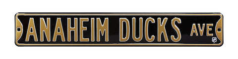 Anaheim Ducks Ave Sign