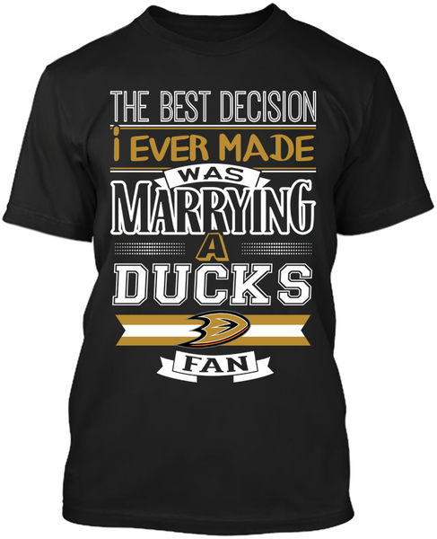 Anaheim Ducks Best Decision