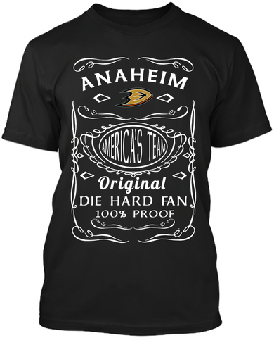 Anaheim Ducks Die Hard Fan