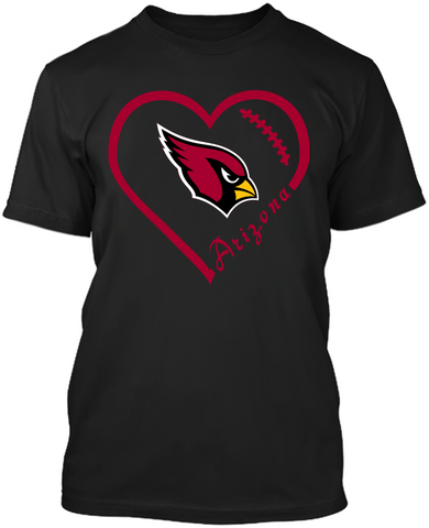 Arizona Cardinals Heart