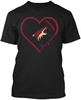 Arizona Coyotes Heart