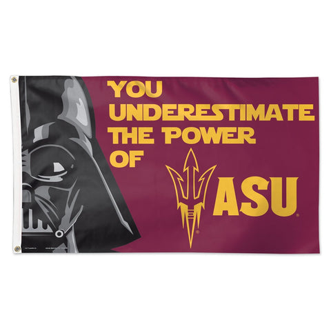 Arizona State University Darth Vader Deluxe 3' x 5' Flag