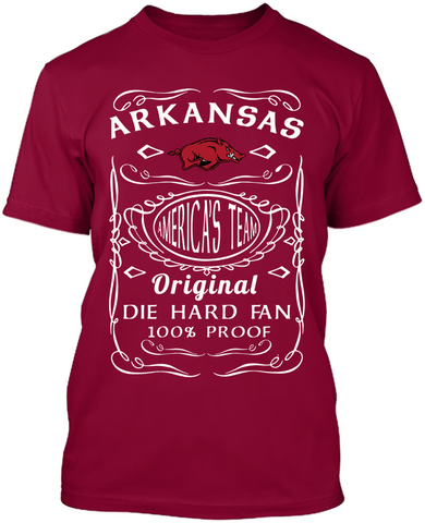 Die Hard - Arkansas Razorbacks