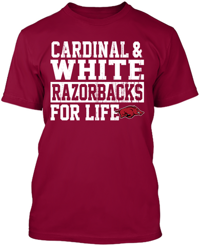 For Life 2 - Arkansas Razorbacks