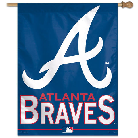 "Atlanta Braves 27"" x 37"" Vertical Banner Flag"