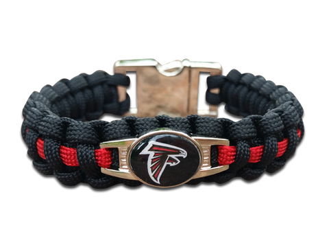Atlanta Falcons Paracord Bracelet