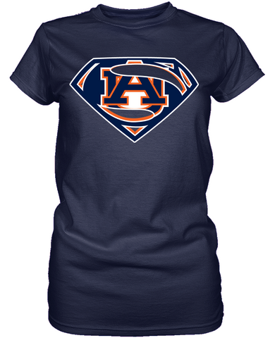 Auburn Tigers Superman