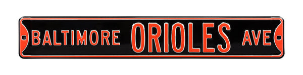 Baltimore Orioles Ave Sign
