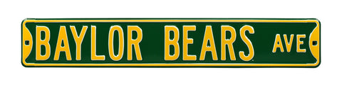 Baylor Bears Ave Sign
