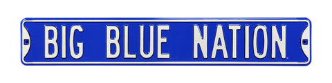 Kentucky Wildcats Nation Street Sign