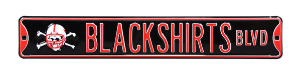 Blackshirts Blvd Street Sign