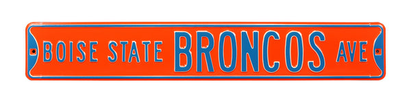 Boise State Broncos Ave Sign