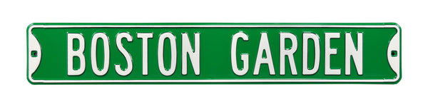 Boston Garden Street Sign