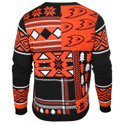 Anaheim Ducks Patches Ugly Sweater