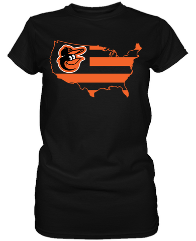 Baltimore Orioles - Broad Stripes