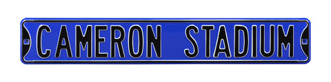 Cameron Stadium Street Sign
