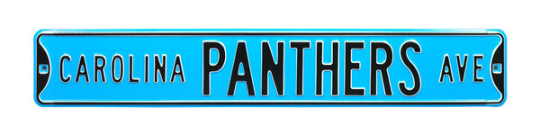 Carolina Panthers Ave Sign