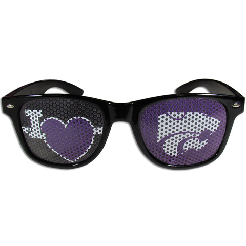 Kansas St. Wildcats I Heart Game Day Sunglasses