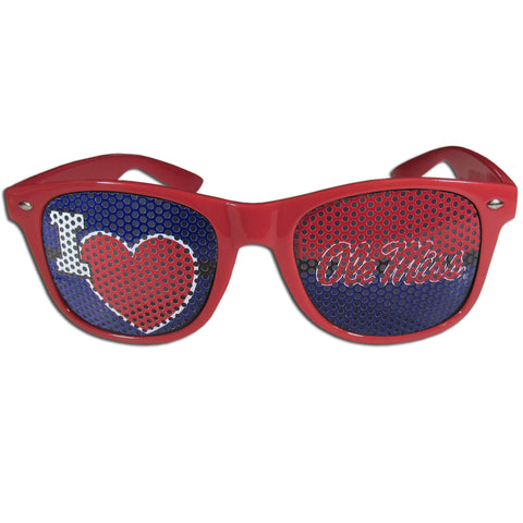 Mississippi Rebels I Heart Game Day Sunglasses