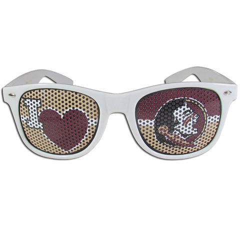 Florida St. Seminoles I Heart Game Day Sunglasses