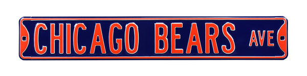 Chicago Bears Ave Sign