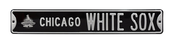 Chicago White Sox Logo Street Sign