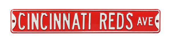Cincinnati Reds Ave Sign