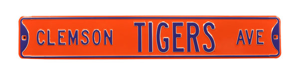 Clemson Tigers Ave Sign