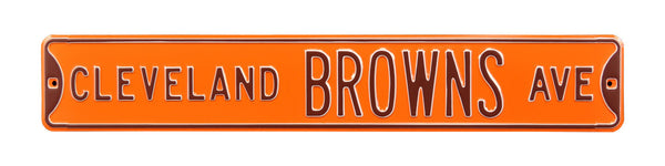Cleveland Browns Ave Sign