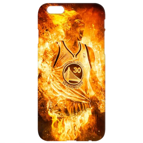 "Golden State Warriors ""Curry On Fire"" Phone Case"
