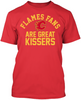 Calgary Flames Are Great Kissers