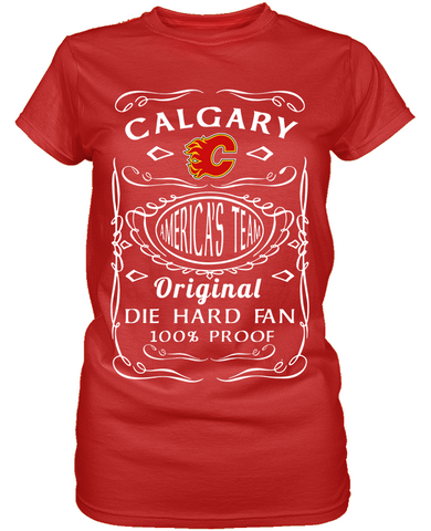 Calgary Flames Die Hard Fan