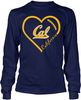 California Golden Bears Heart