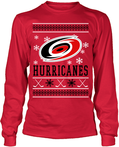 Carolina Hurricanes Holiday Sweater