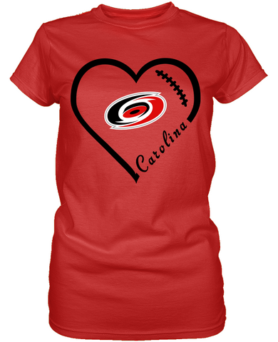 Carolina Hurricanes Heart