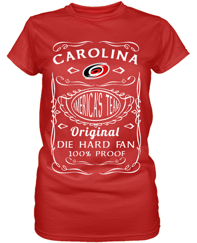 Carolina Hurricanes Die Hard Fan