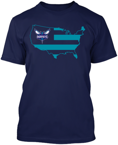 Charlotte Hornets - Broad Stripes
