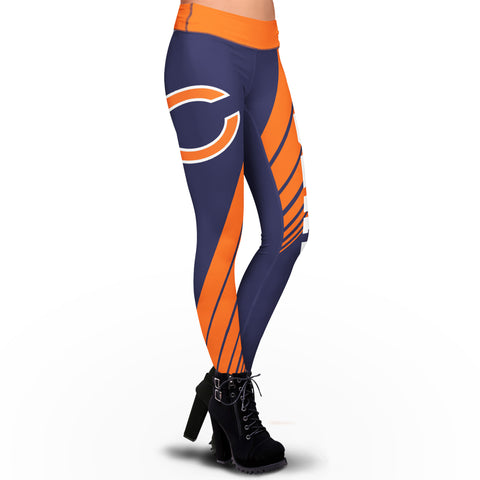 Chicago Bears Dynamic Sublimation Leggings