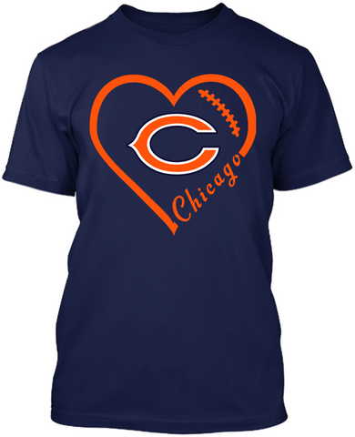 Chicago Bears Heart
