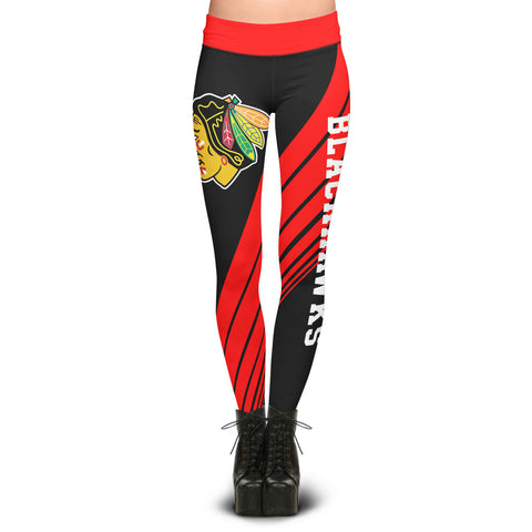 Chicago Blackhawks Dynamic Sublimation Leggings