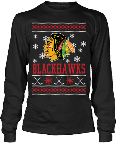 Chicago Blackhawks Holiday Sweater
