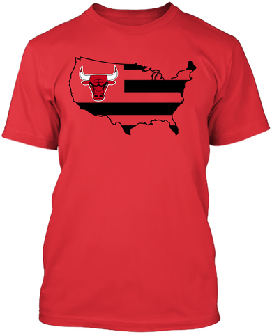 Chicago Bulls - Broad Stripes