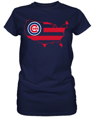 Chicago Cubs - Broad Stripes