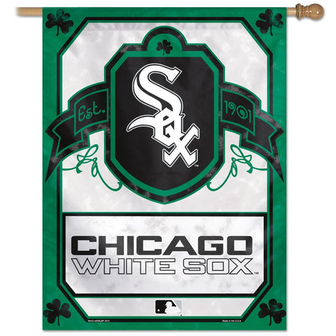 "Chicago White Sox 27"" x 37"" Vertical Banner Flag"