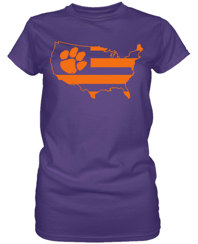 Clemson Tigers - Broad Stripes