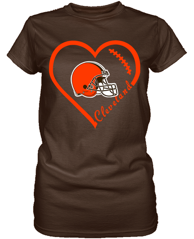 Cleveland Browns Heart