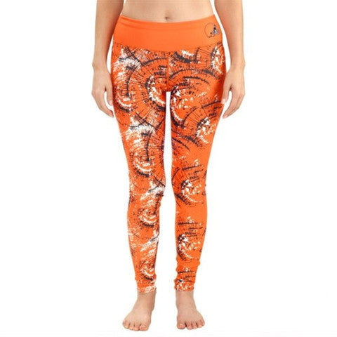 Cleveland Browns Thematic Print Leggings